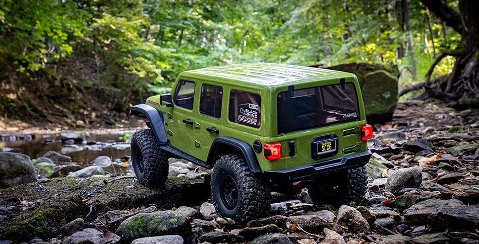 Axial® SCX6 Jeep® JLU Wrangler 4WD RTR